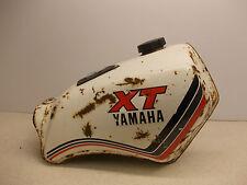 Yamaha XT125 fuel tank and cap gas tank petrol tank