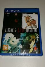 Virtue's Last Reward PS Vita New Sealed UK PAL Game Sony PlayStation 3 PSV RPG