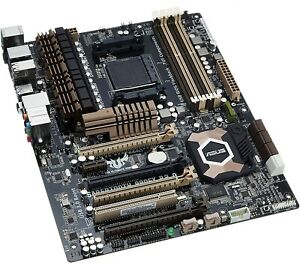 ASUS sabertooth 990fx r2.0 + AMD FX8120 Cpu motherboard Combo READ DESC*