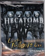 HECATOMB TRADING CARD GAME LAST HOLLOW'S EVE BOOSTER PACK *CCG*