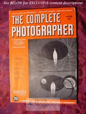 The COMPLETE PHOTOGRAPHER November 20 1942 Issue 43 Volume 8