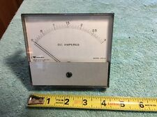 Triplett 420-G Radio Transmitter Panel Meter Dc Amperes 0-3 Me184