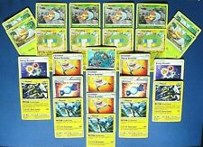 5 VIKAVOLT EVOLUTIONS🔥 4 Reverse Holo Battery Charjabug Unbroken Bonds Pokemon
