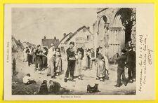 cpa Cachet COUSANCE (Jura) Ecrite en 1903 BAPTÊME en BRESSE