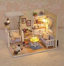 Dolls House DIY Room With Furniture 1:24 scale