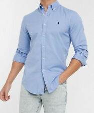 Light / Sky Blue Ralph Lauren Pony Shirt