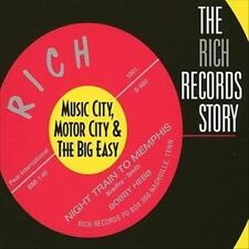 THE RICH RECORDS STORY: MUSIC CITY, MOTOR CITY & THE BIG EASY [DIGIPAK] (NEW CD)