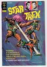 Gold Key STAR TREK #22 1974 FN- Vintage Comic