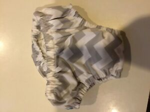 Charlie banana gray chevron swim diaper