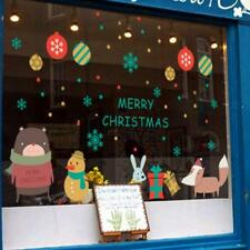 Merry Christmas Wall Sticker Removable Mural Decal Home Shop Window Decor WT7n