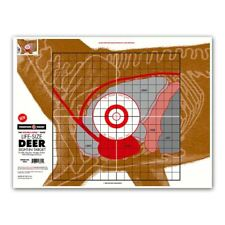 """Thompson Target   Life-Size Deer Big Game Hunting Sight-In Targets - 19""""x25"""""""