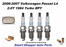 Tune Up Kit 06-07 Volkswagen Passat L4 Spark Plug, Oil Filter, Air Filter, Belt