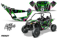 Graphics Kit Decal Wrap For Arctic Cat Wildcat Sport XT 700 2015-2016 FRENZY G
