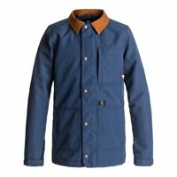 DC SHOES OPERATIVE JACKET INSIGNIA BLUE GIACCA CAMICIA SNOWBOARD FW 2018  NEW...