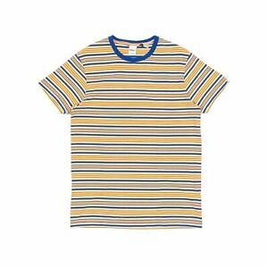 Deus Ex Machina Berties Stripe T-Shirt - Golden Haze