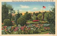 Postcard Long Beach Park and Country Club Michigan City Indiana