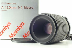 [Top MINT Box] Mamiya Macro A 120mm f/4 M For 645 1000S Super Pro TL From JAPAN