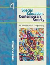 Special Education In Contemporary Society by Gargiulo