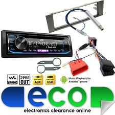AUDI A3 2003-2005 8P JVC BLUETOOTH CD MP3 USB Rear Bose Car Stereo Upgrade Kit
