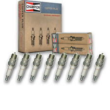 8 pc Champion 121 Copper Spark Plugs RV8C - Auto Pre Gapped Ignition nb