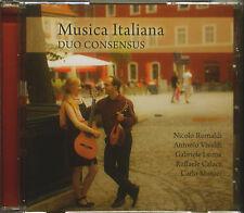 CD Duo consensus-musica italiana