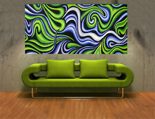 Large  Art Painting Abstract original hand painted green
