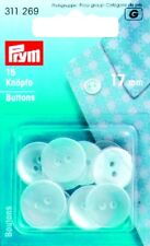 15 Prym Coat buttons 17 mm Plastic mother of pearl colors 311269