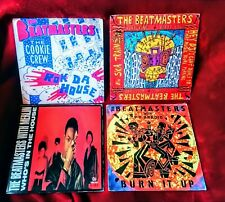 """THE BEATMASTERS  12""""  VINYL SINGLES  COLLECTION / LOT - VG+"""