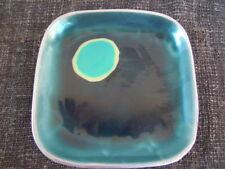 MDP MILANOciotola/piatto in fusione di alluminio e pasta di vetro BLU/CELESTE pc