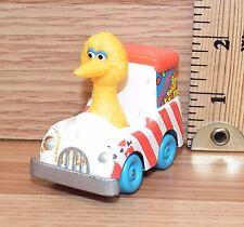 "Playskool 1983 Sesame Street ""Big Bird Popcorn Truck"" Toy Only *Read*"