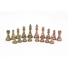 New Dal Rossi Bronze & Copper 101mm Chess Pieces (only) Board Game
