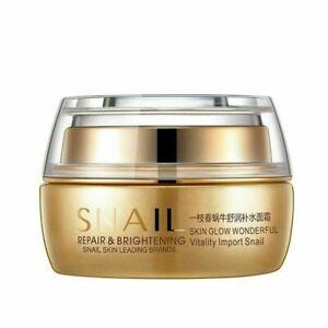 Best Korean Nature Snail Cream Anti Wrinkles Acne whitening Face Skin Care Serum