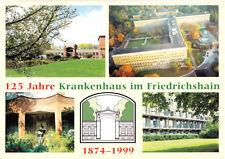 AK, Berlin Friedrichshain, 125 Jahre Krankenhaus Friedrichshain, vier Abb., 1999