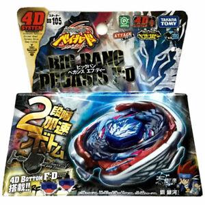 GENUINE Takara Tomy Big Bang Pegasis F:D Cosmic Pegasus Beyblade BB105 Authentic