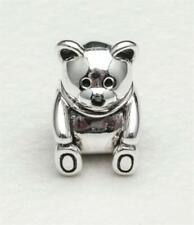"Chamilia Sterling Silver  ""Teddy Bear "" Charm-Bead, NEW"