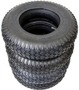4x Reifen + Schlauch für Gokart Go Kart Rad 400x100 4.80/400-8 Dino Berg Go Cart