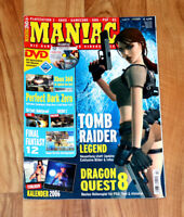 2006 Video gaming Magazine Tomb Raider Legend Final Fantasy 12 Fatal Frame III 3