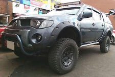 Wide fender flares wheel arches for MITSUBISHI L200 Warrior, Triton, Animal