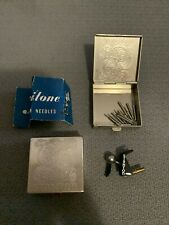 Original Stanton Black Stylus With Needles In Metal Stanton Cases!