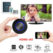 Q1 Wifi Wireless Mirroring Display Dongle Receiver Media DLNA Miracast Airplay
