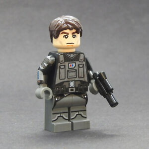 Custom Star Wars minifigures Lux Bonteri on lego brand bricks