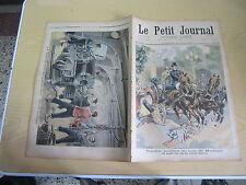 Le petit journal 1898 n° 396 Accident mortel au bois de boulogne guerre santiago
