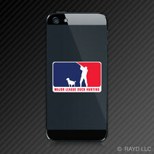 (2x) Major League Duck Hunting Cell Phone Sticker Decal Self Adhesive Mobile