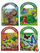 😊 12 x mini Malbücher Malbuch mit Sticker Mitgebsel  Kindergeburtstag Tombola