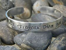 F**k Cancer bracelet - You are stronger than you know