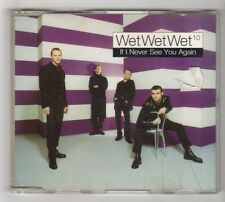 (HC232) Wet Wet Wet, If I Never See You Again - 1997 CD