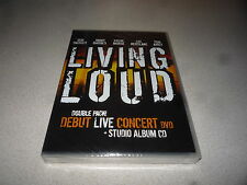 LIVING LOUD DEBUT LIVE CONCERT DVD BRAND NEW AND SEALED