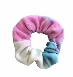 Scrunchie - Velour Multi Coloured