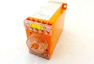 SCHLEICHER SZT320 RELAY ELECTRONIC TIME 110-127VAC 50-60HZ .3-1S