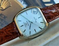 Longines Flagship HF 8418 4 CAL 6651 RARE WATCH VINTAGE Automatic REVISIONATO !!